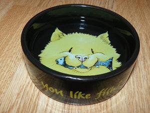 миска из керамики