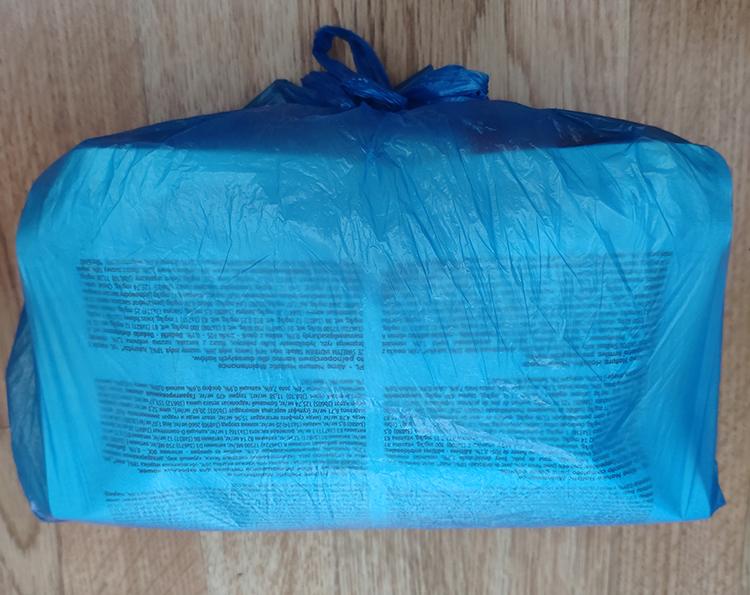 корм в пакете