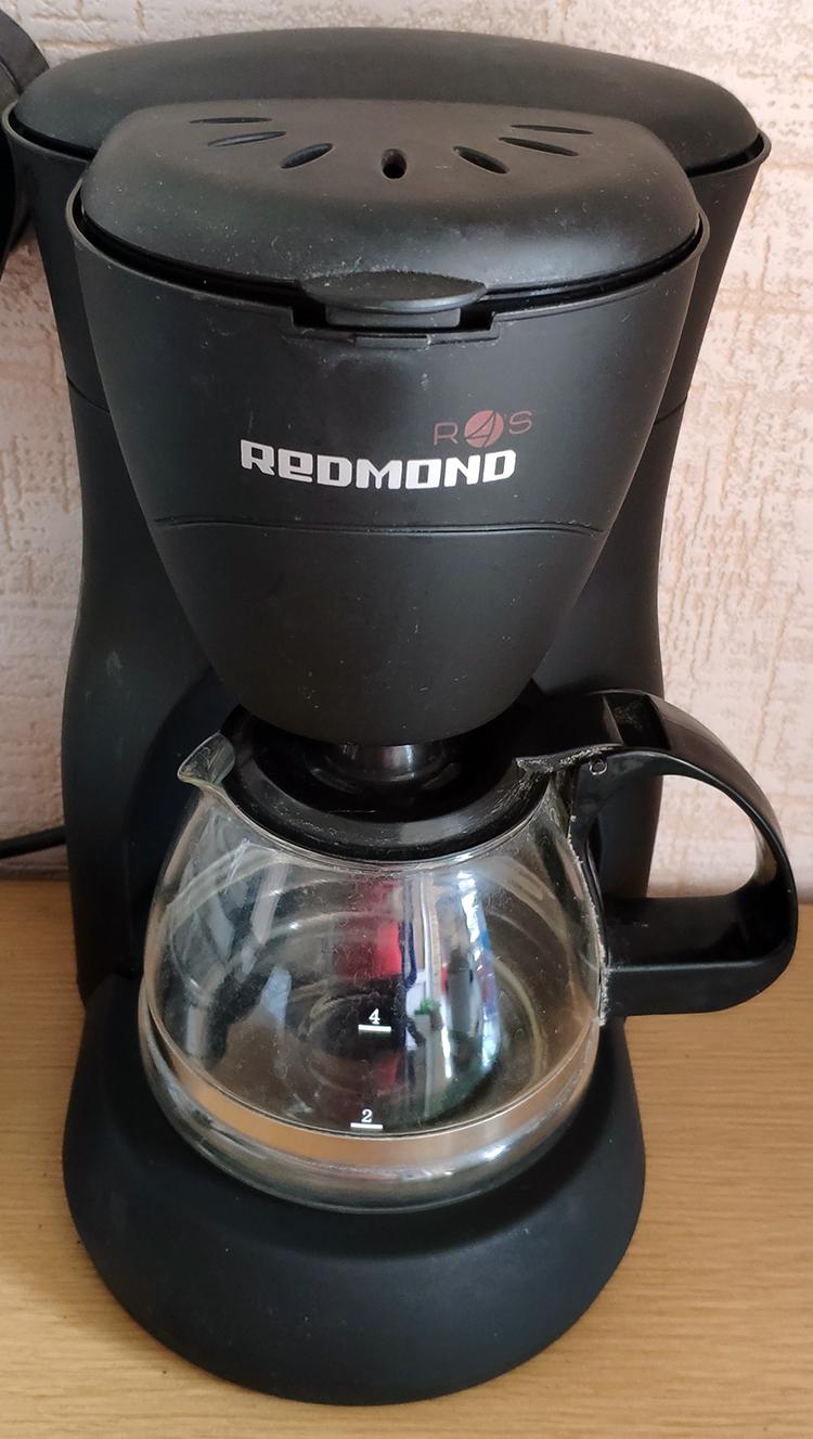 внешний вид кофеварки