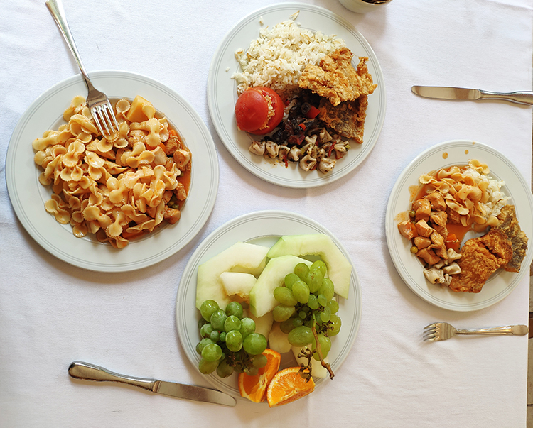обед в Алара