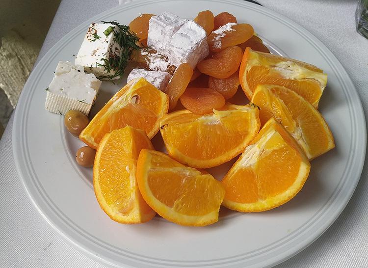 завтрак в Турции