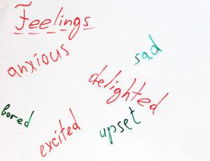 прилагательные эмоции