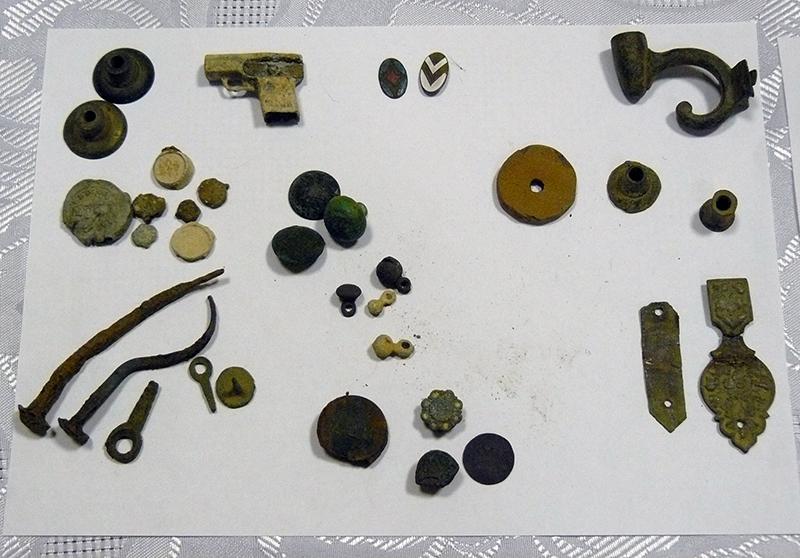 предметы раскопок